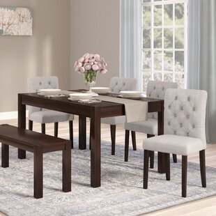Darby Home Co Gardners 6 Piece Dining Set
