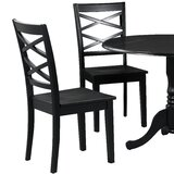 Spillers Solid Wood Dining Chair (Set of 2) by Winston Porter
