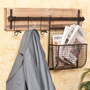 Selby Entryway Wall Coat Rack with Storage