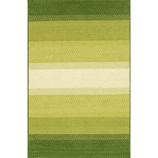 Barta Green Indoor/Outdoor Area Rug