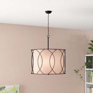 Brayden Studio Weyant 3-Light Drum Chandelier