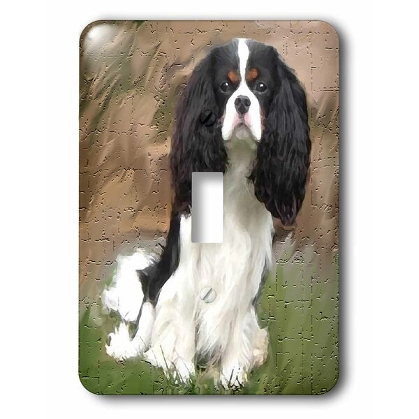 3drose Cavalier Spaniel 1 Gang Toggle Light Switch Wall Plate Wayfair