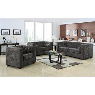 Kulick 3 Piece Living Room Set