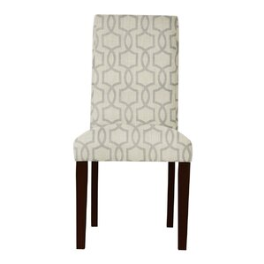 Beachwood Gray Parsons Chair (Set of 2) by Latitude Run
