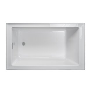 "Linea® 60"" x 36"" Alcove Soaking Bathtub"