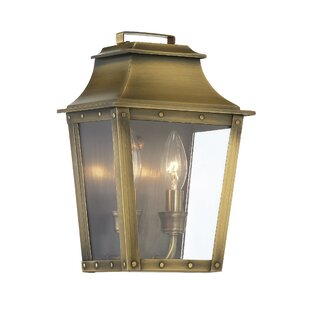 Best Reviews Hazeldell 2-Light Outdoor Flush Mount By Longshore Tides