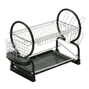 2 Tier Dish Drainer with Tray III by All Home