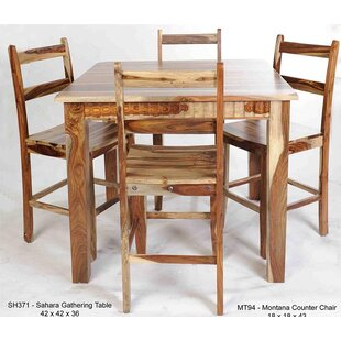 Montana Solid Wood Dining Chair by Aishni..