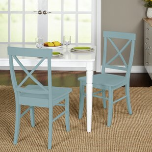 Colored Wooden Kitchen Chairs Wayfair