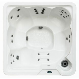 6-Person 30-Jet Hot Tub With Lounger By Aston