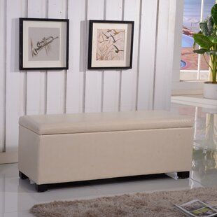 Bellasario Collection Classic Leather Storage Bench