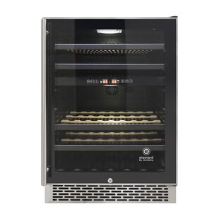 46 Bottle Butler Series Dual Zone Convertible Wine Cooler by Vinotemp