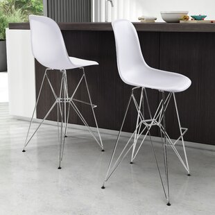 Carnlelis 28.7 Bar Stool by Corrigan Studio