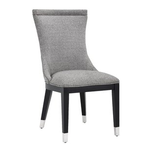 Sunpan Modern Club North Carolina Upholstered Dining Chair (Set of 2)