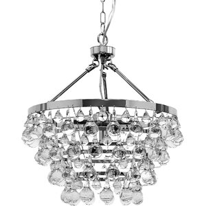 Ahern 5-Light LED Crystal Chandelier