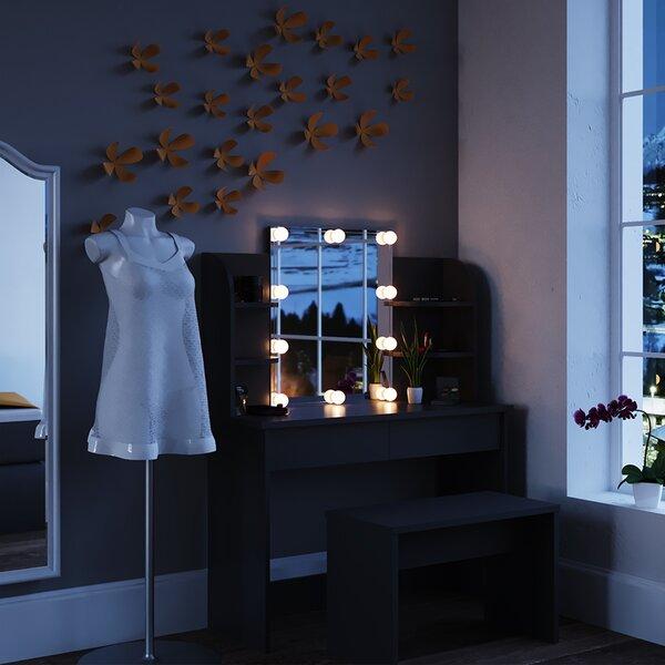 Mercury Row Bella Vista Dressing Table With Mirror