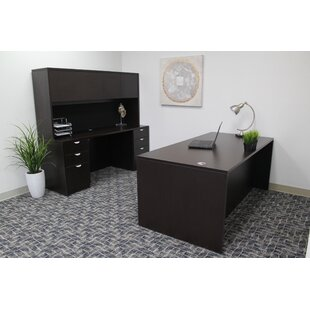 Symple Stuff Contemporary 5 Piece Rectangle Desk Office Suite