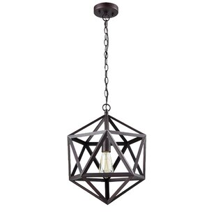 Williston Forge Mccune Hanging 1-Light LED Pendant
