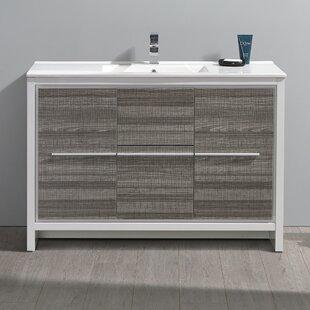 Inexpensive Trieste Allier Rio 47 Single Bathroom Vanity Set ByFresca
