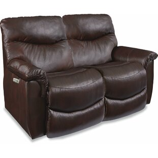 James LA-Z-TIME� POWER-RECLINE Loveseat w..