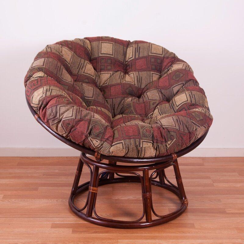 Perfect Chenille Papasan Chair Cushion