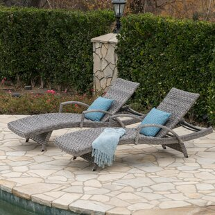 Hershman Armed Chaise Lounge (Set of 2)