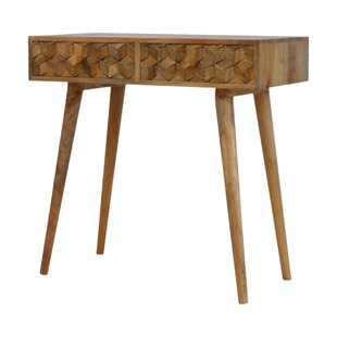 Review Makaila Solid Wood Console Table