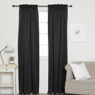Lined Pencil Pleat Curtains Wayfair Ca