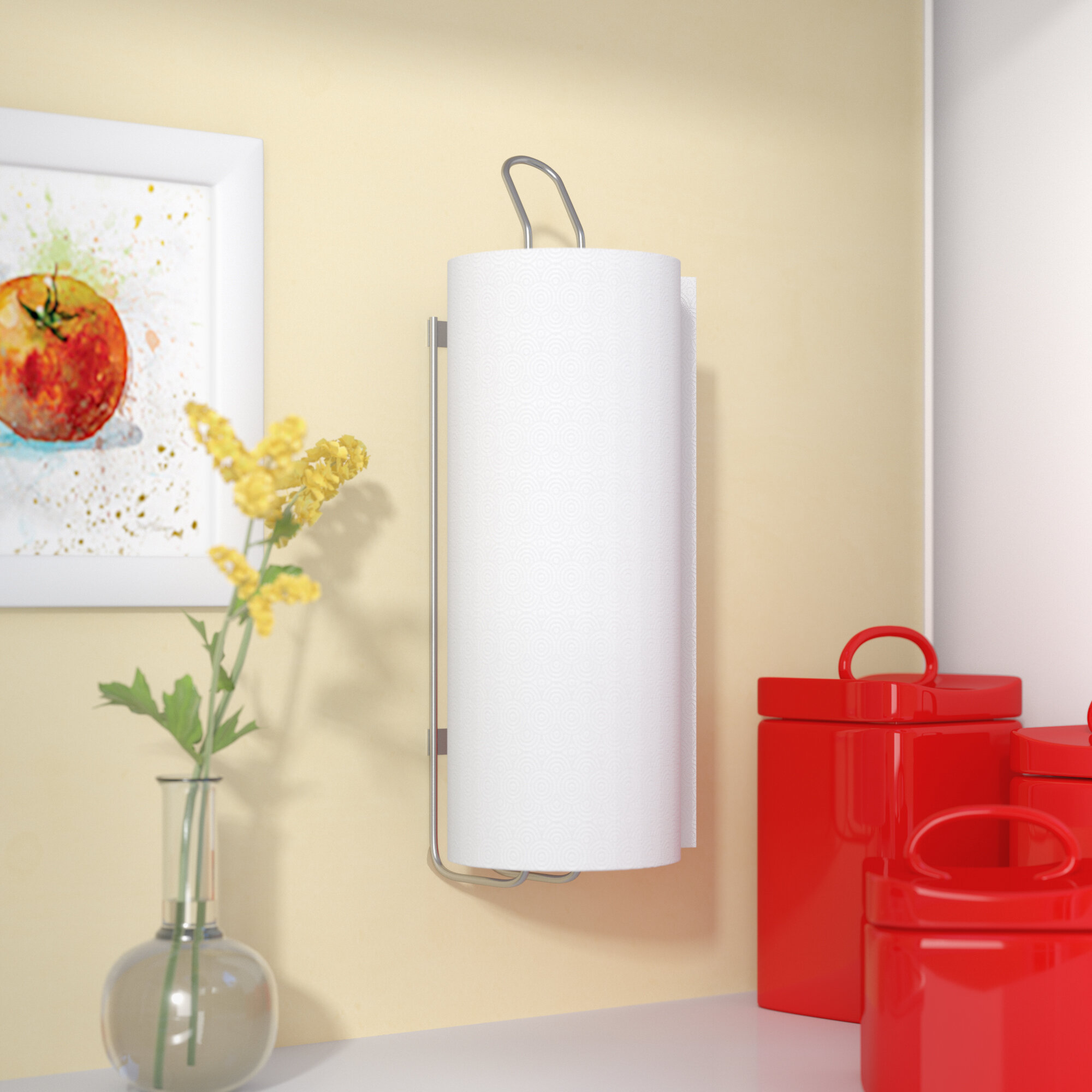 Rebrilliant Wall Mounted Paper Towel Holder Reviews Wayfair