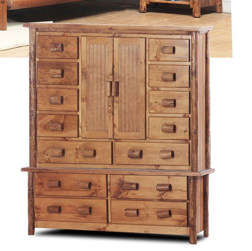Chelsea Home Chelmsford 14 Drawer Combo Dresser