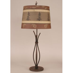 Rustic Living Iron Stack 32.5 Table Lamp