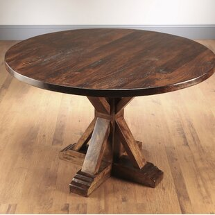 Rebeca Solid Wood Dining Table Ophelia & Co.