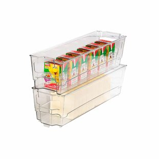 Stackable Narrow Fridge Bin