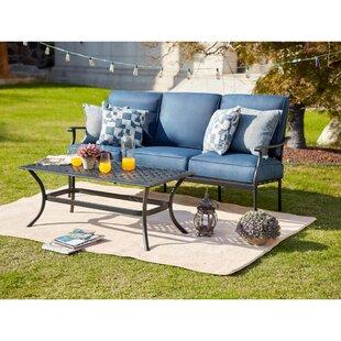 Sasaki 2 Piece Sofa Seating Group with Cushion by Charlton Home