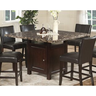 Alabarran 7 Piece Counter Height Solid Wo..