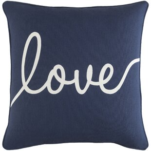 Yahya Romantic Love Throw Pillow by Ivy Bronx Herry Up