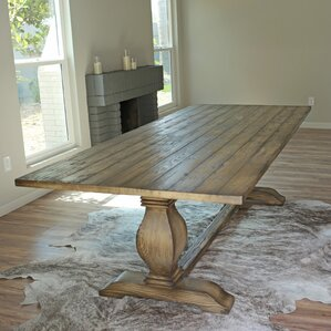 Ryans Trestle Dining Table by August Grove