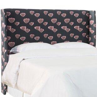 Affordable Tews Upholstered Wingback Headboard by Brayden Studio