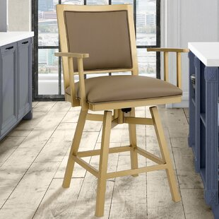 Follett 30 Swivel Bar Stool by Everly Quinn