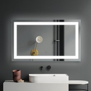 Lighted Makeup Shaving Mirrors Free Shipping Over 35 Wayfair