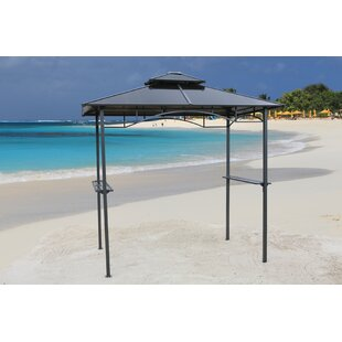 Graves 240cm X 150cm Metal Grill Gazebo By Sol 72 Outdoor