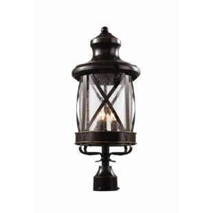 Compare prices Landon 3-Light Lantern Head By Laurel Foundry Modern Farmhouse