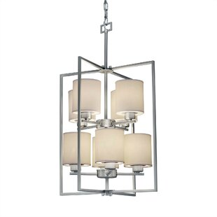 Red Barrel Studio Carlea 8-Light Square/Rectangle Chandelier