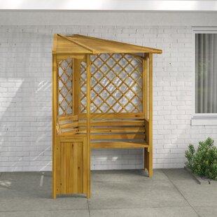 Schwerin Corner Wooden Arbour Image