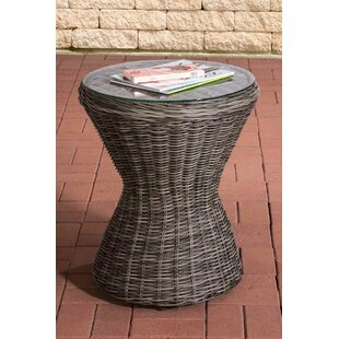 Rosalind Rattan Bistro Table By Sol 72 Outdoor