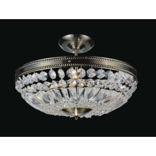 Cornelius 3-Light Semi Flush M..