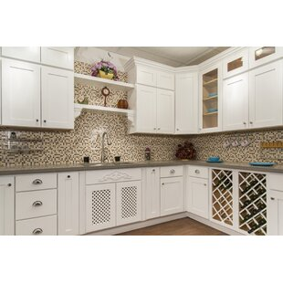 White Shaker 36 x 21 Wall Cabinet by NGY Stone & Cabinet