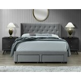 Adella Queen Tufted Upholstered Storage Standard Bed by House of Hampton®