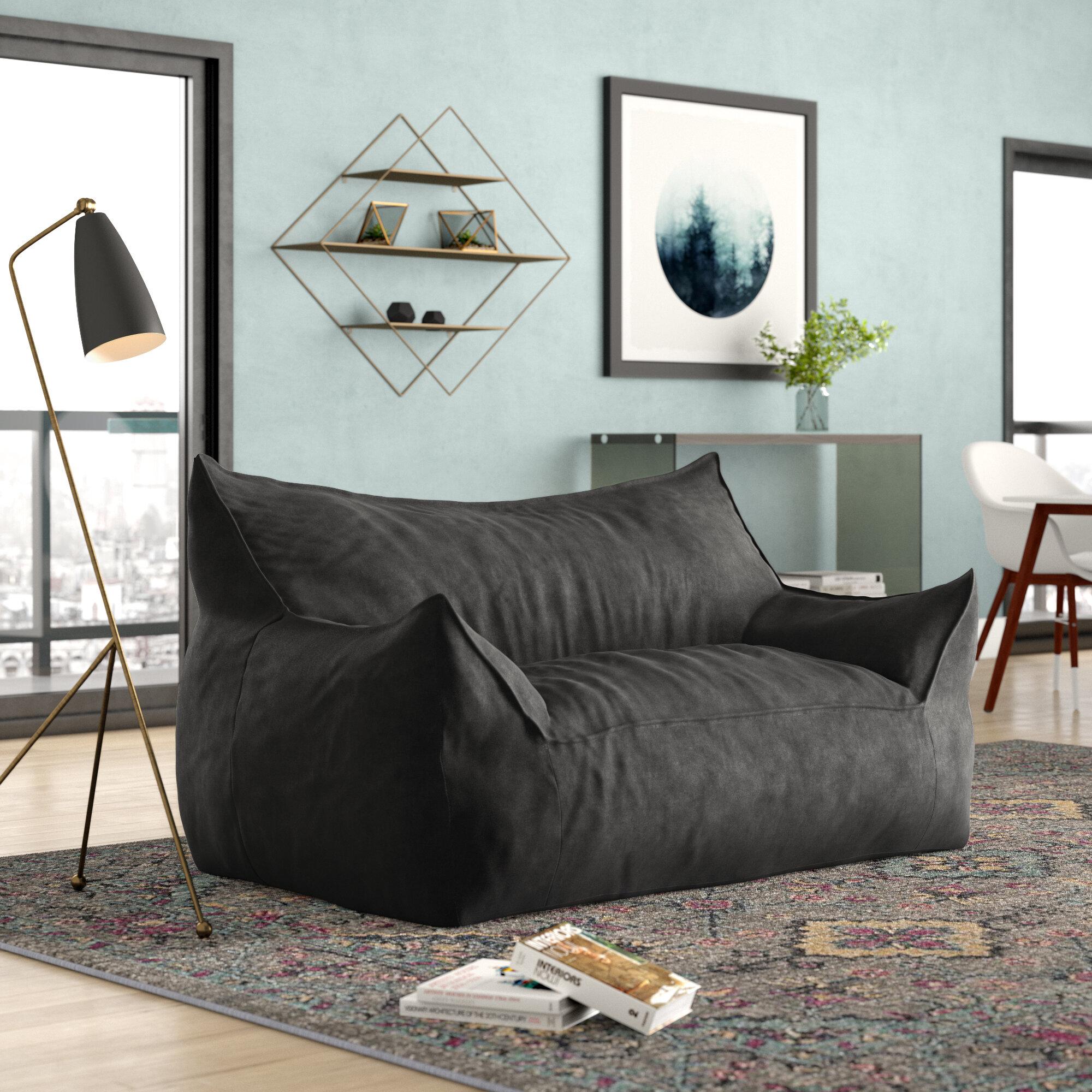 Admirable Union Jack Bean Bag Wayfair Creativecarmelina Interior Chair Design Creativecarmelinacom