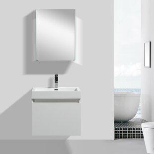 Finnigan Modern 24 Single Bathroom Vanity Set by Orren Ellis